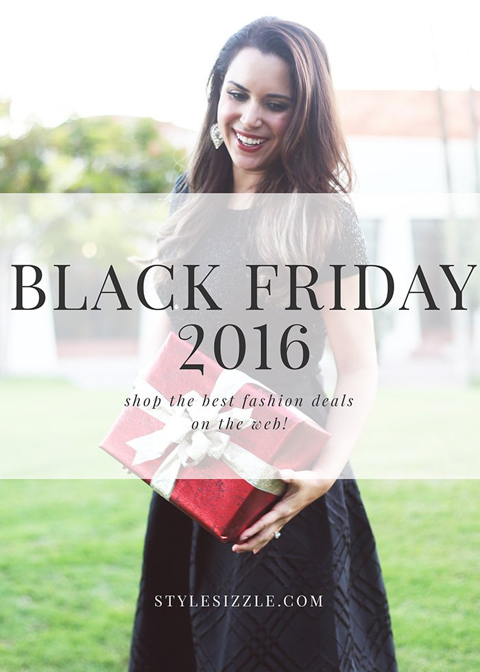 Shop the best Black Friday 2016 fashion deals, including some can't-resist site wide sales and great gift ideas!
