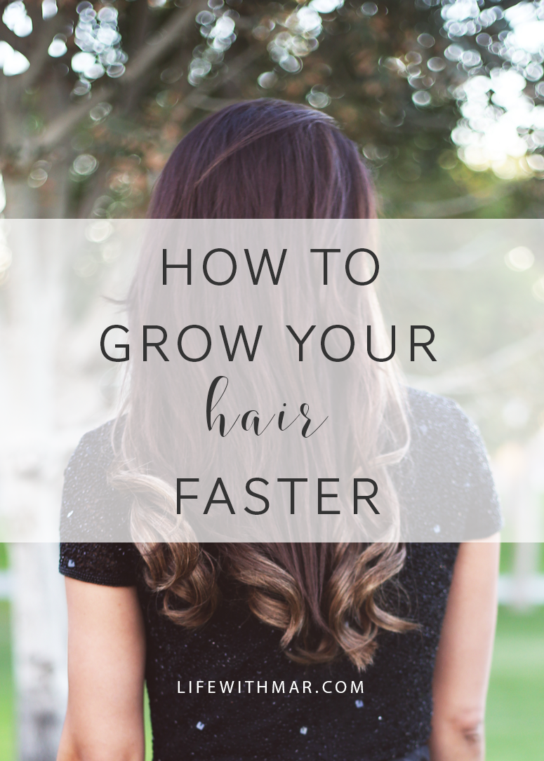 how to grow your hair faster, tips, tricks from Sassoon salon for hair growth. Plus, enter to win a free hair makeover package! Click the post for entry details