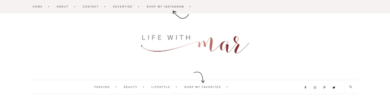 life with mar website tour