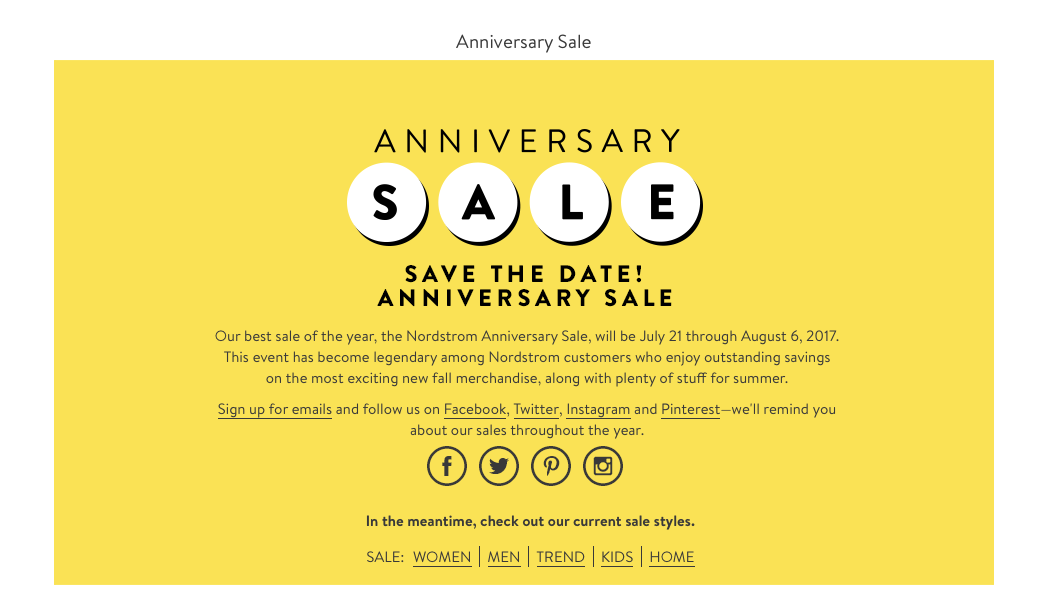 Nordstrom anniversary sale 2017 preview, shopping tips and early access