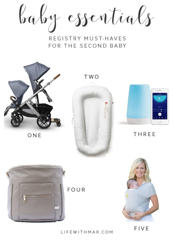 Second Baby Must-Haves
