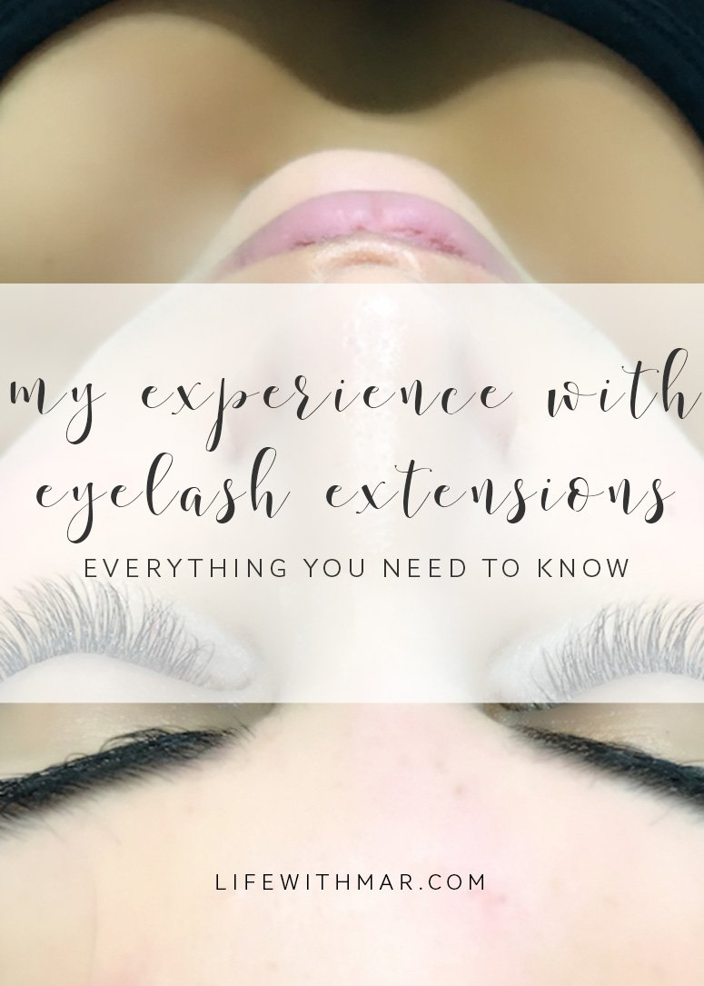 My Experience With Borboleta Eyelash Extensions Life With Mar