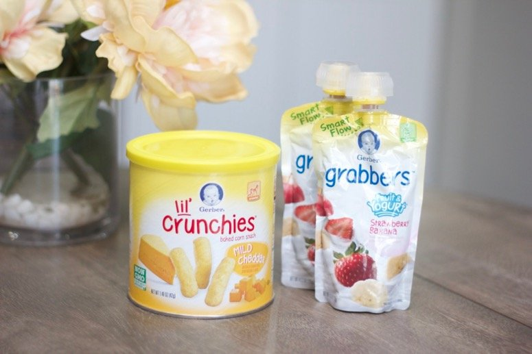 gerber lil crunchies and grabbers