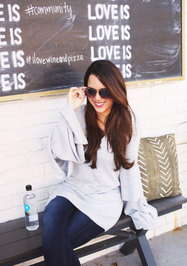 The Loveliest Tiered Sweater