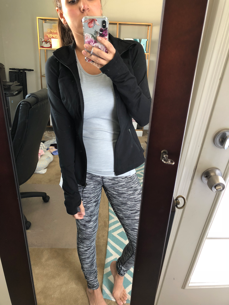cute workout outfits from Trunk Club Zella defy jacket