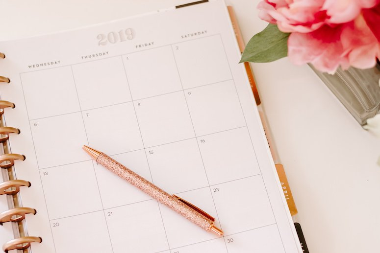 2019 best blog planner