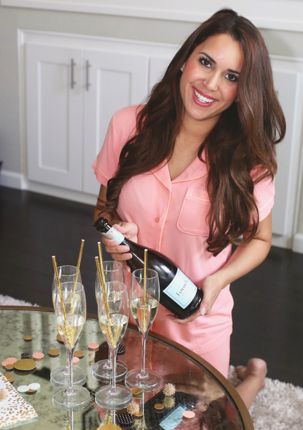 How to Host a PJs and Prosecco Party