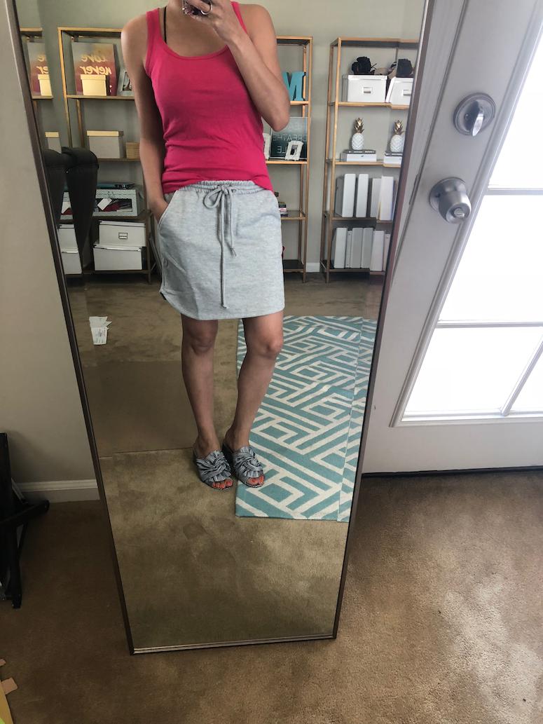Gibson Terry skirt