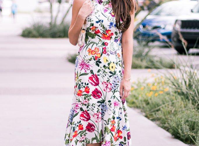 Maggy London Botanical Dress