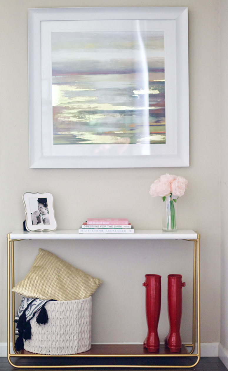 entryway makeover project 62 console table target