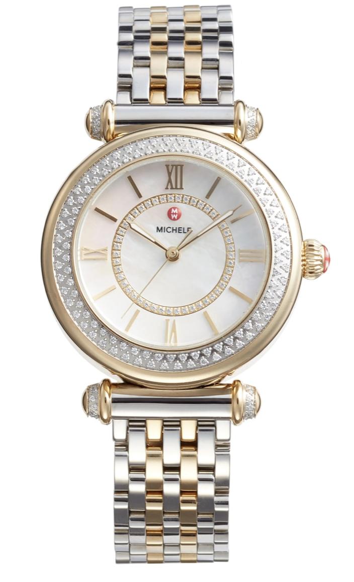 Michele Caber diamond bracelet watch nordstrom anniversary sale 2018