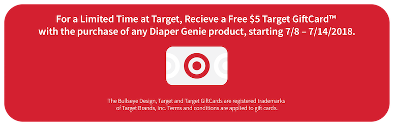 playtex diaper genie deal at Target