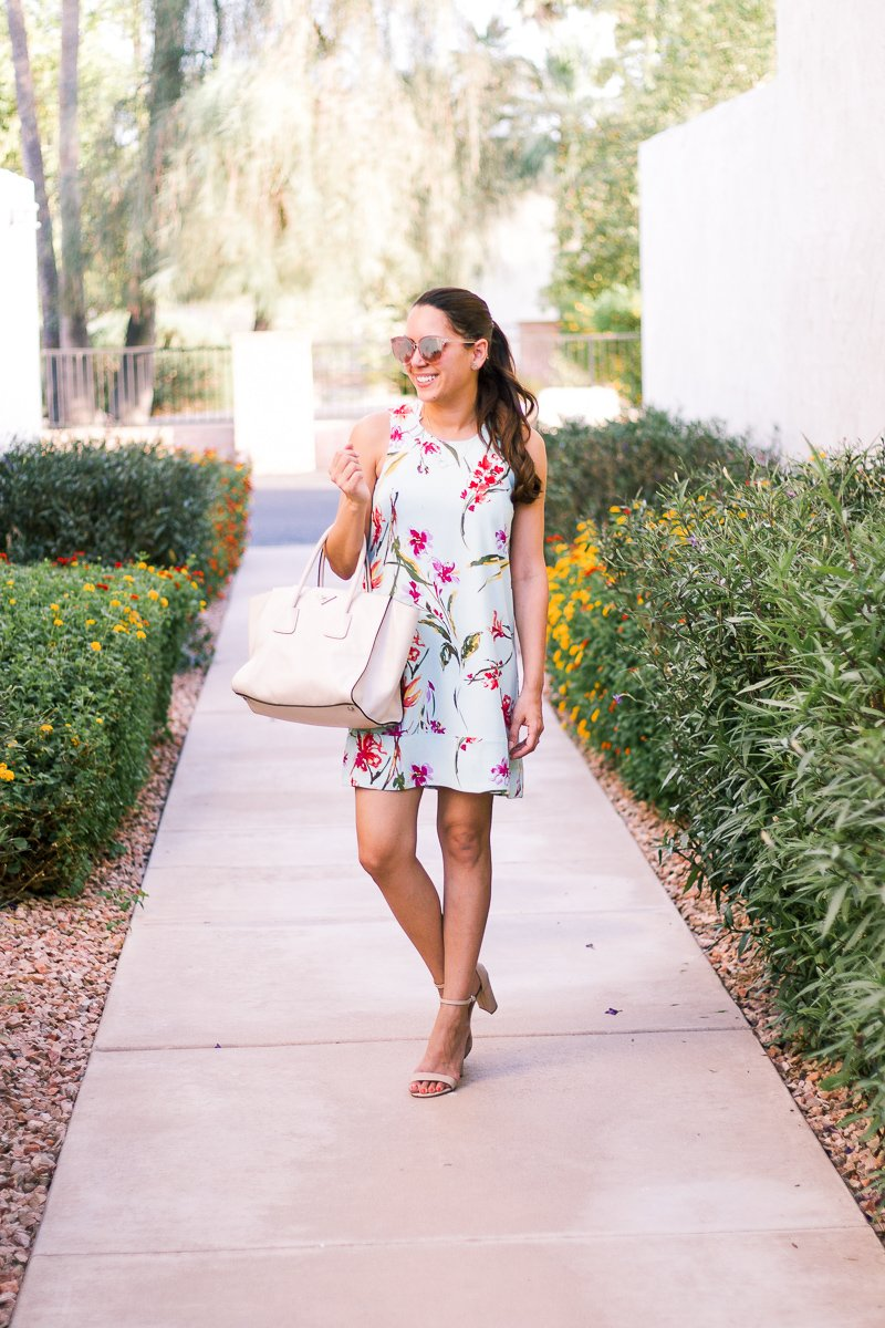 summer shift dress floral nordstrom