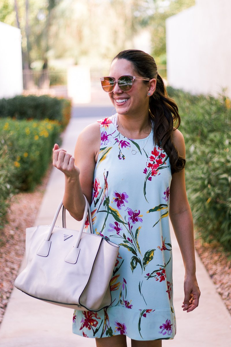 summer shift dress florals nordstrom