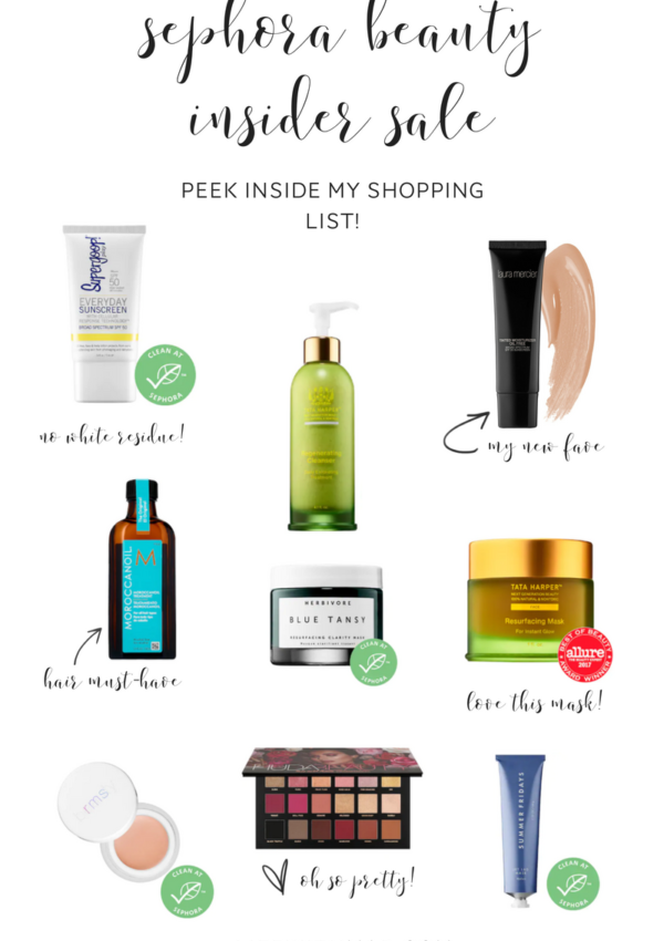 Must-Haves From the Fall 2018 Sephora Beauty Insider Sale!