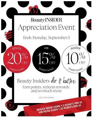 fall 2018 sephora beauty insider sale