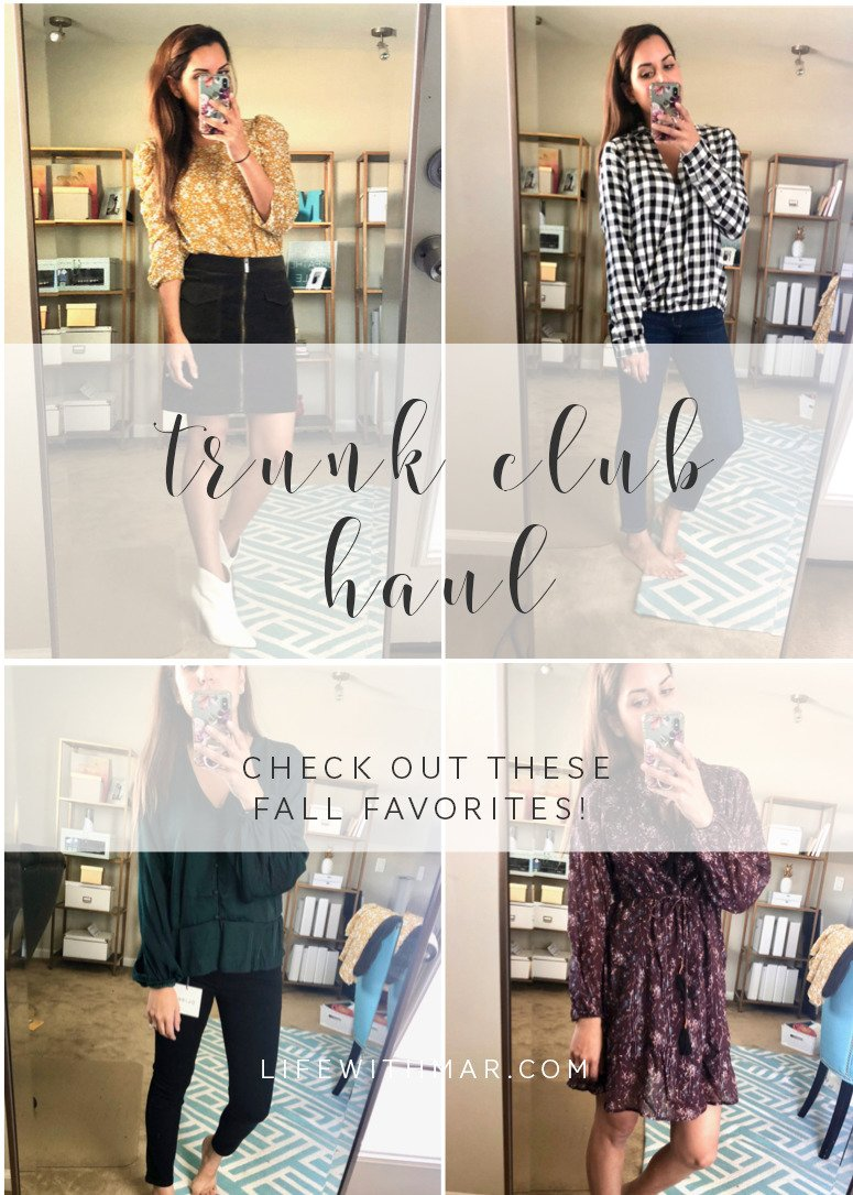 october trunk club haul, peek inside my fall favorites from Trunk Club!
