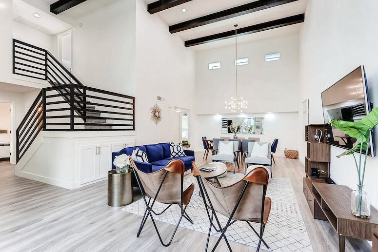 scottsdale airbnb before and after