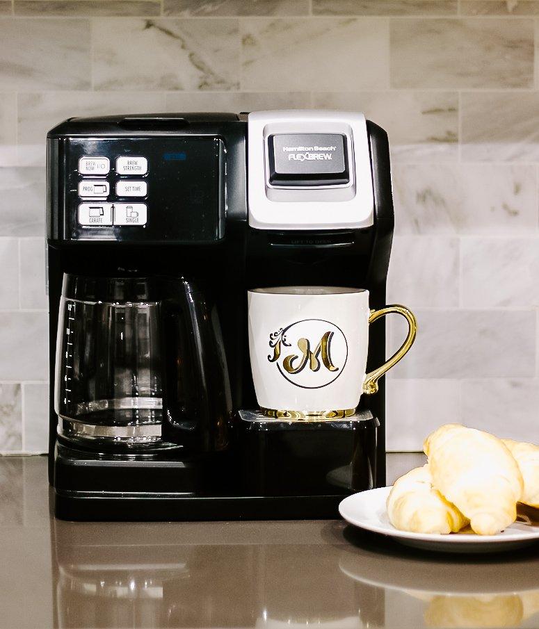hamilton beach flex brew coffee maker review