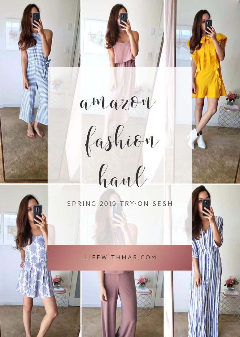 amazon fashion spring haul and try on session